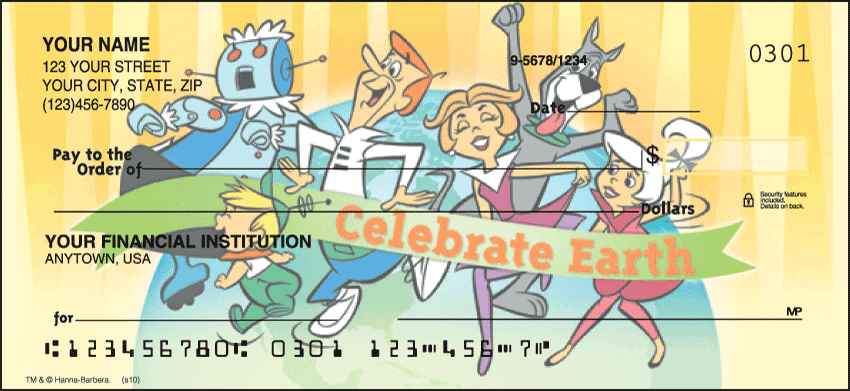 celebrate earth checks - click to preview
