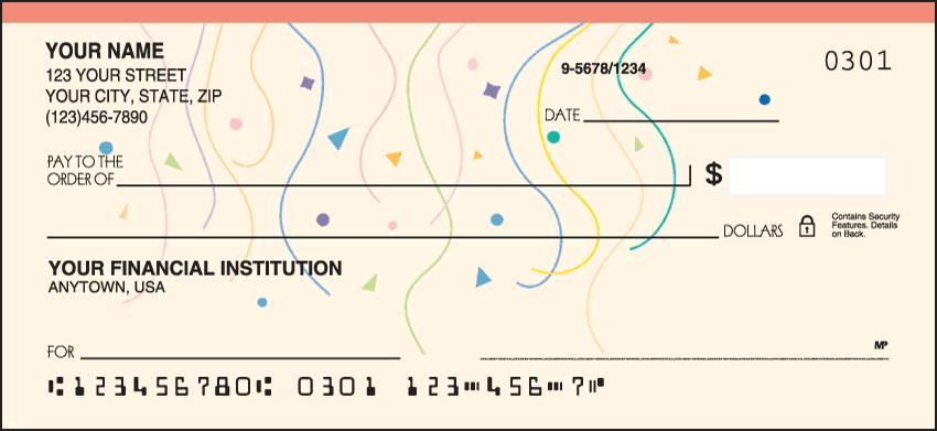 confetti checks - click to preview