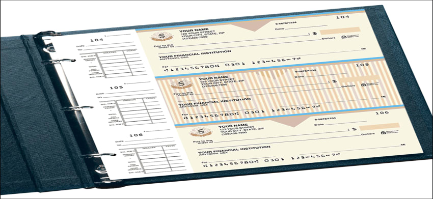 country club desk set checks - click to preview