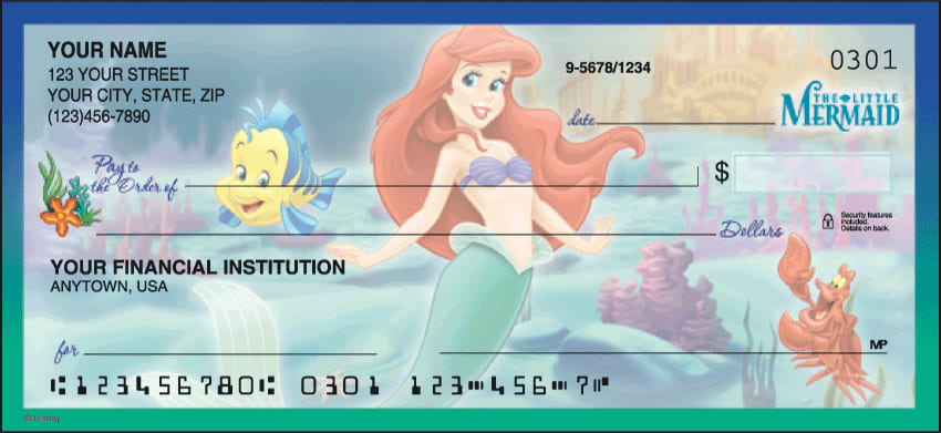 Enlarged view of disney classics, series ii checks