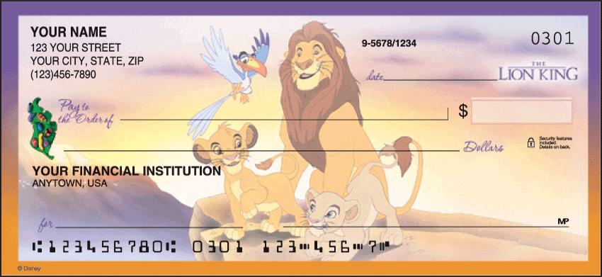 Disney Classics, Series II Checks - click to view larger image