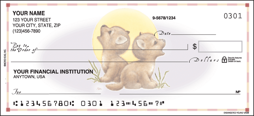 Endangered Young'uns® Checks - click to view larger image