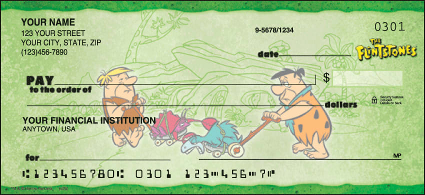 The Flintstones Checks - click to preview