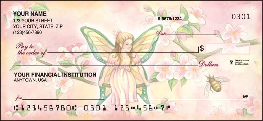 Garden Fairies Checks - click to view larger image