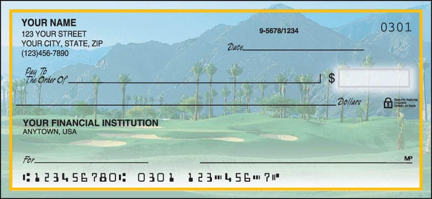 golf escapes checks - click to preview