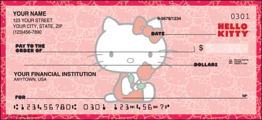 Hello Kitty® Classic Checks - click to view larger image