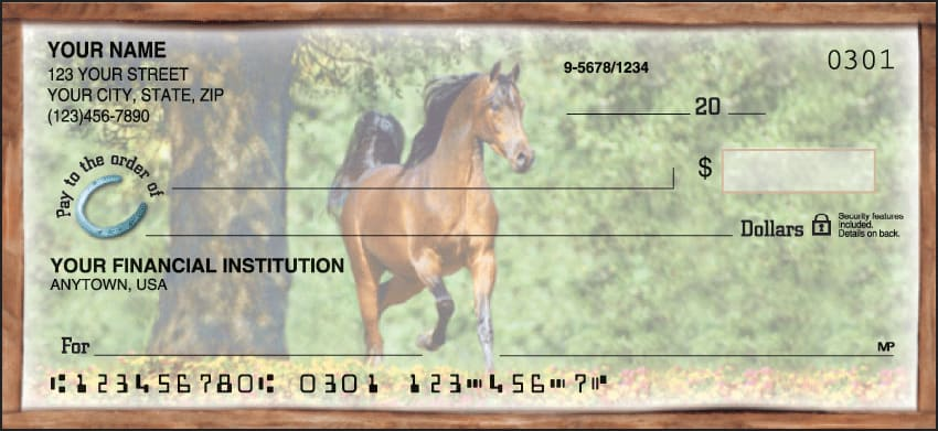 horse play checks - click to preview