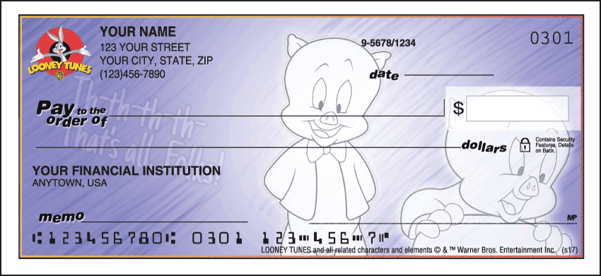 looney tunes ii checks - click to preview