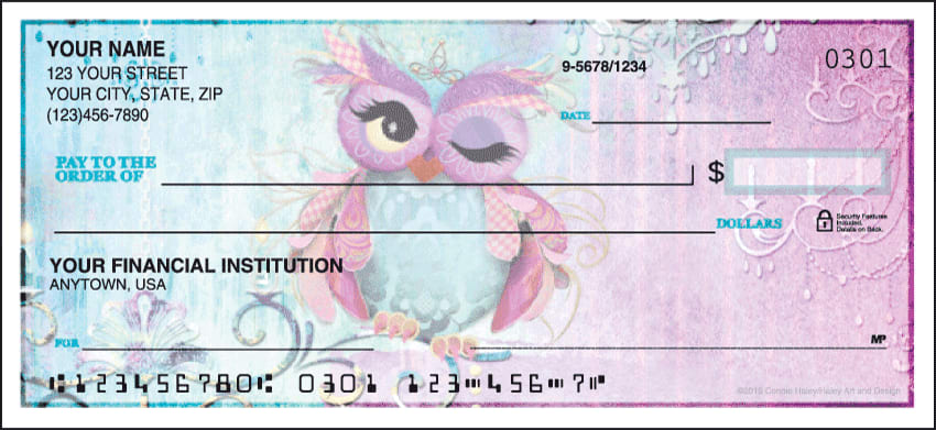 Enlarged view of Owls Checks