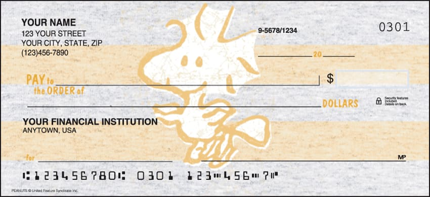 peanuts checks - click to preview
