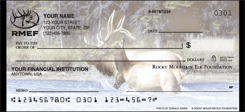 rocky mountain elk foundation checks - click to preview