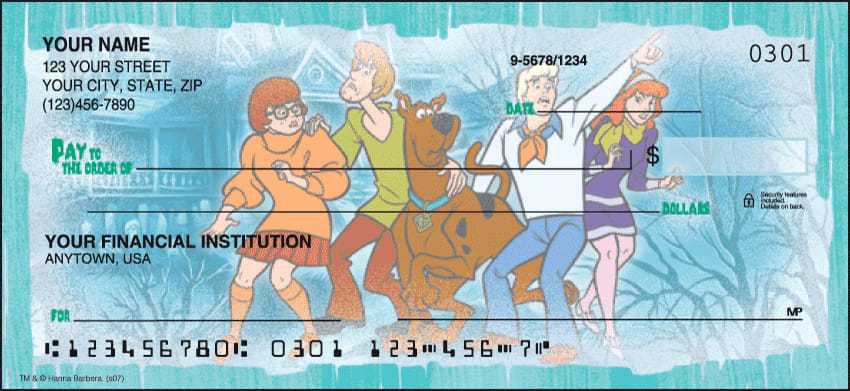 Scooby-Doo Mystery, Inc. Checks - click to view larger image