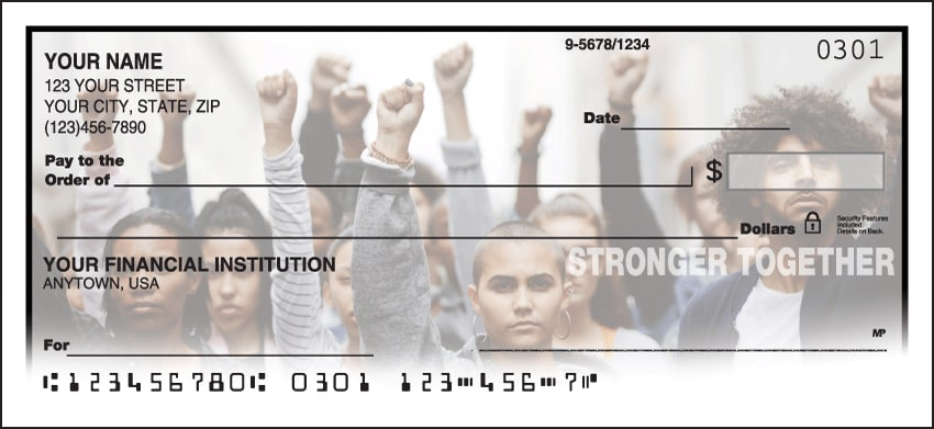 Stronger Together Checks - click to view larger image