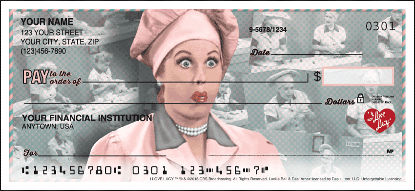 Vintage Lucy Checks - click to view larger image