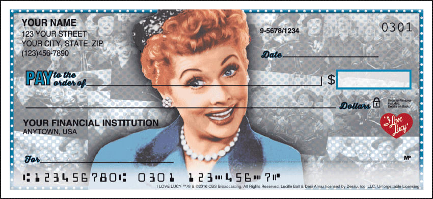 vintage lucy checks - click to preview