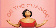 Be The Change Checkbook Cover - click to view larger image