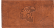 Eagle Checkbook Cover - click to view larger image