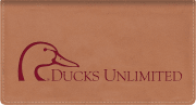Ducks Unlimited Checkbook Cover - click to view larger image