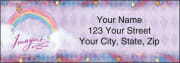 flavia® celestial address labels - click to preview