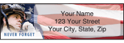 American Heroes Address Labels – click to view product detail page