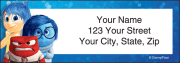 disney pixar inside out address labels - click to preview