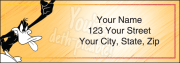 looney tunes ii address labels - click to preview