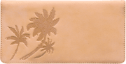 Palm Trees Checkbook Cover - click to view larger image