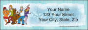 Scooby-Doo Mystery Inc Address Labels – click to view product detail page
