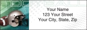 Sports Fanatic Address Labels – click to view product detail page