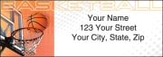 sports fanatic address labels - click to preview