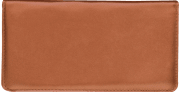 Tan Checkbook Cover - click to view larger image
