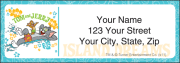 tom and jerry address labels - click to preview