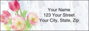 Tulip Whispers Address Labels – click to view product detail page