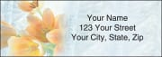 tulip whispers address labels - click to preview