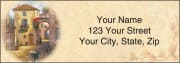 Tuscany Address Labels - click to view larger image