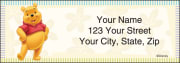Disney Winnie the Pooh Address Labels - click to view larger image