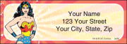 Wonder Woman Comics Address Labels – click to view product detail page