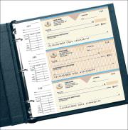 country club desk set checks - click to preview