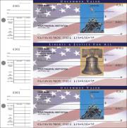stars & stripes desk set checks - click to preview