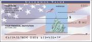 side tear - stars & stripes checks - click to preview