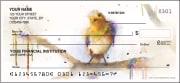 watercolor birds checks - click to preview