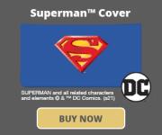Superman Checkbook Cover
