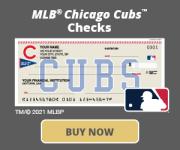 Chicago Cubs™ Checks