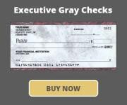Executive Gray Marble Checks