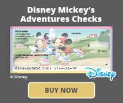 Disney Mickey's Adventures Checks