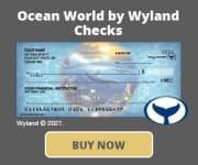 Ocean World by Wyland Checks