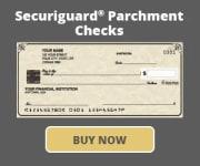 Securiguard Parchment Checks