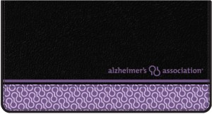 Enlarged view of Alzheimer's Association Checkbook Covers
