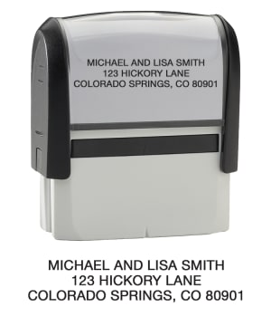 Standard- Return Address Stamp – click to view product detail page