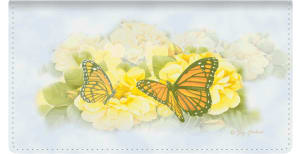 Butterfly Blooms Checkbook Cover – click to view product detail page